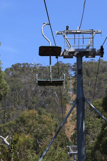 The Arthurs Seat chairlift has remained immobile since 2006 because of safety concerns.