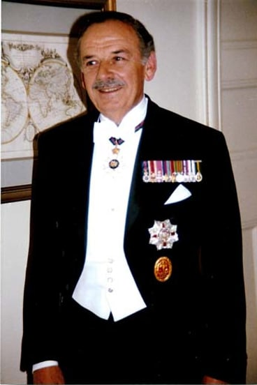 Role model: Sir Robert Crichton-Brown was recognised and awarded for his achievements in business, community services and yachting.