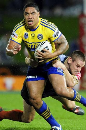 Tackled by the salary cap … Willie Tonga could be on his way out of Parramatta.