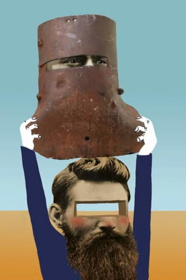 Who will play Ned Kelly this time? <em>Illustration: Simon Letch</em>