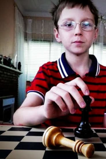 Check it out ... 13-year-old chess champ Anton Smirnov.