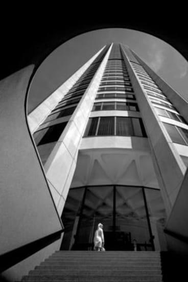 Leaving a mark ... Harry Seidler's Australia Square, Sydney (1960-67). Photo: Max Dupain (1968)