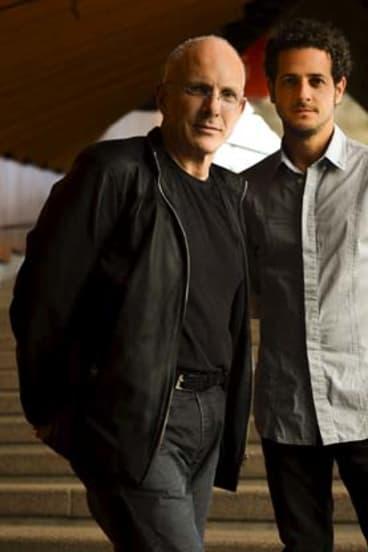 Antidote: Nigel Westlake and Lior.