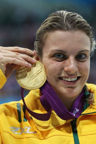 Australian Paralympic's gold medalist Jacqueline Freney.