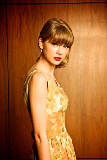 Darling of the country music scene: Taylor Swift can command a stadium crowd.
