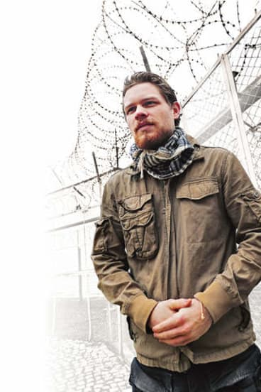 Behind the wire … Palfreeman says he's been jailed for a crime he didn't commit.