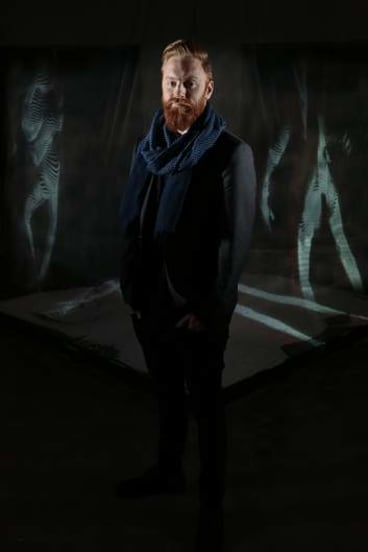 Multimedia and video artist Alexander Boynes.