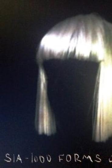 Cover art for Sia Furler's 2014 album <i>1000 Forms of Fear</i>.