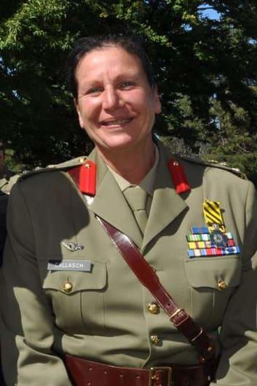 Brigadier Dianne Gallasch.
