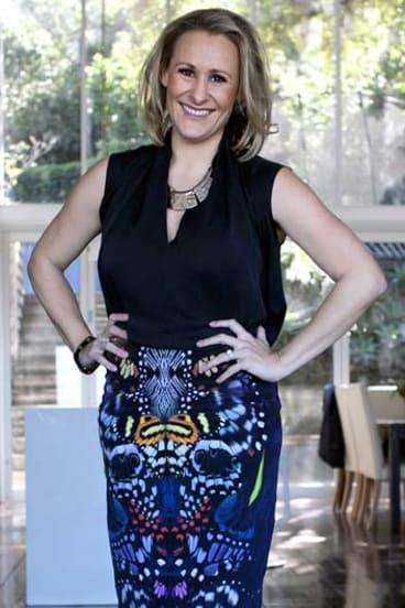 """I love supporting Australian designers"": Emma Isaacs."