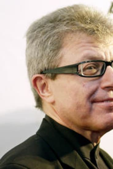 Architect Daniel Libeskind and his wife and business partner Nina .
