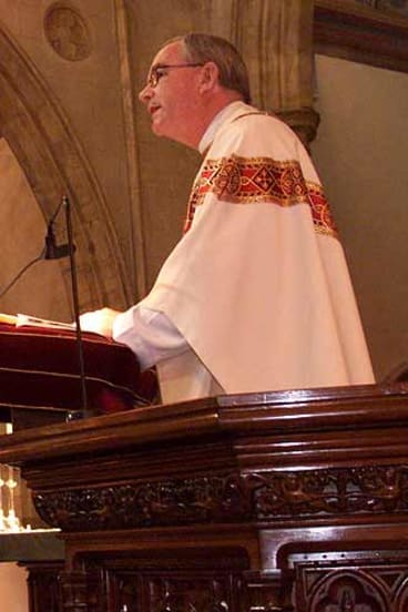 Catholic priest Ian Dempsey.