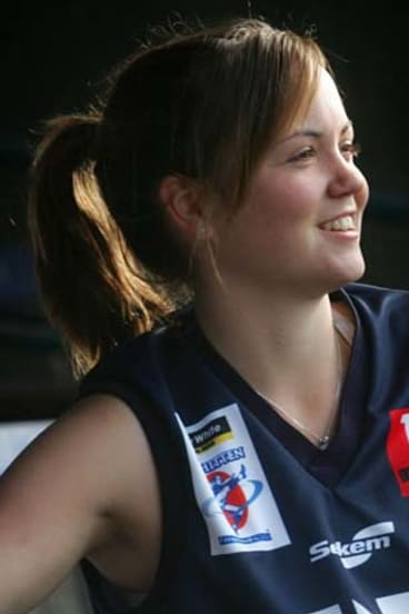Number one draft pick Daisy Pearce.