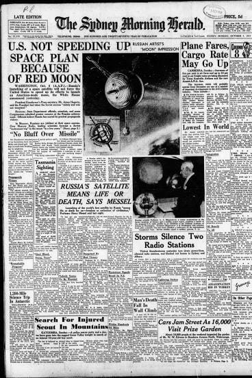 The Sydney Morning Herald, October 7, 1957