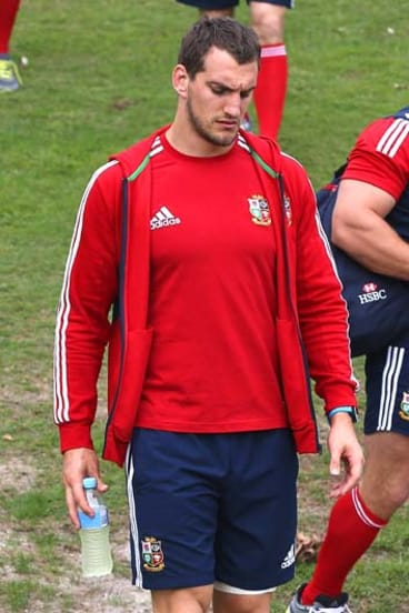 Out of the Test: Sam Warburton.