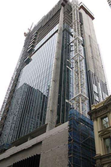 The Laing O'Rourke tower at 123 Albert Street, Brisbane.