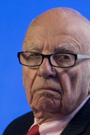 Man of words: Rupert Murdoch.