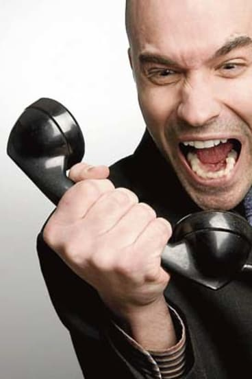 Rage ... bad customers can drive great employees insane.