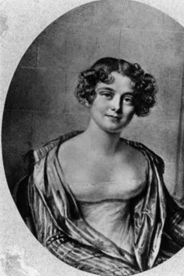 Winning tale: A photograph of Lady Jane Franklin.