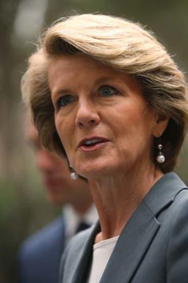 """The Coalition is concerned about unacceptable levels of waste"" ... Julie Bishop."