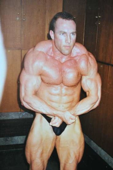 Charter during his drug-tainted body-building and power lifting career.