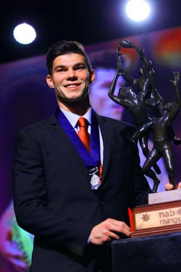 This won't be the last award Jaeger O'Meara and Gold Coast reap in upcoming years.