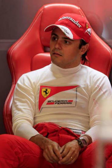 Dead end?: Ferrari's Brazilian driver Felipe Massa may leave the team to make way for Kimi Raikkonen.