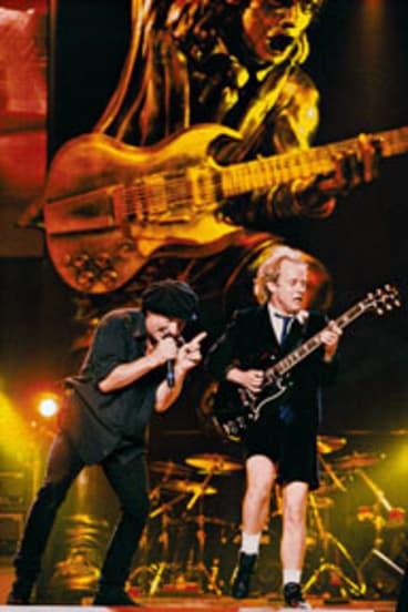 Legendary Australian rock band AC/DC.