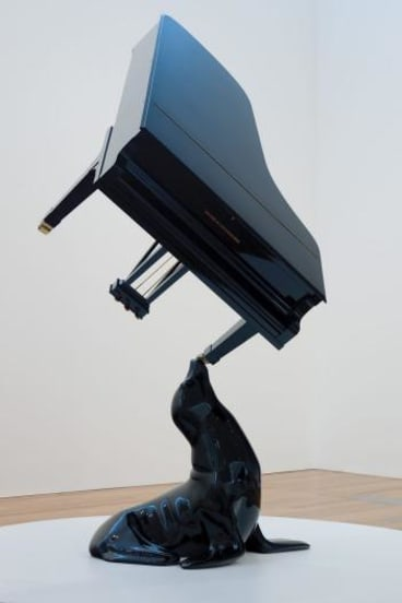One of the works in Michael Parekowhai's exhibition at the Gallery of Modern Art Acquisitions in Brisbane.