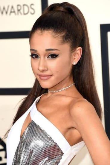 US singer Ariana Grande.