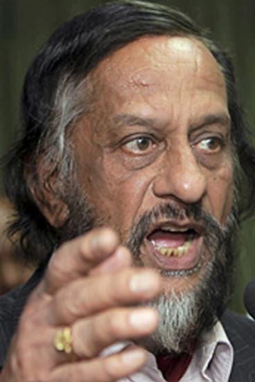 Push  ... Rajendra Pachauri scoffs at calls to step down.