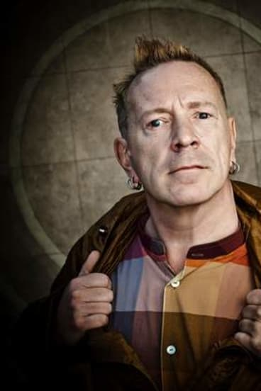 """""""What I do is poetry in motion"""": Former Sex Pistols frontman John Lydon now performs with PiL."""