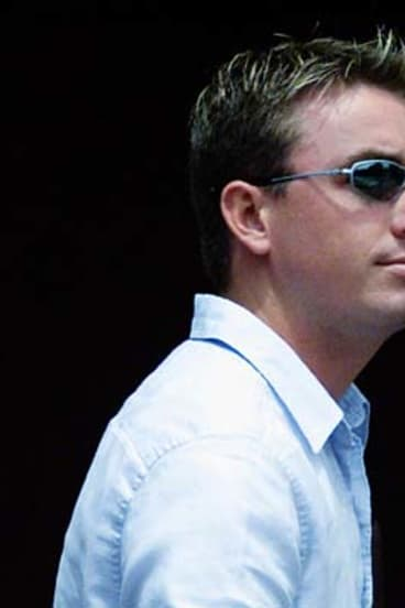 Warned ... James Ashby had been warned not to work for Peter Slipper.