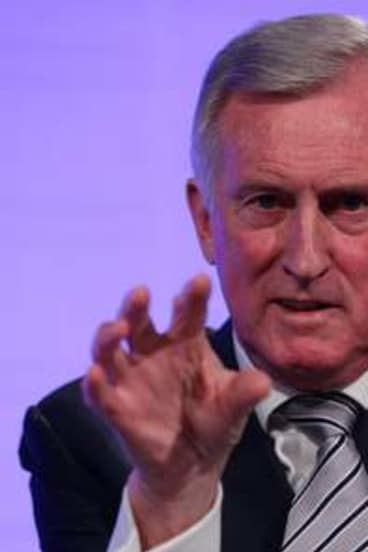 Former Liberal party leader Dr John Hewson.