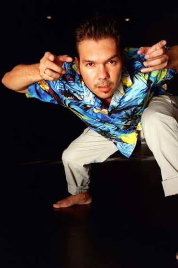 Bangarra Dance Theatre's artistic director Stephen Page.