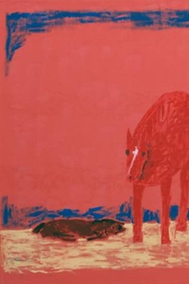 Jenny Watson, <i>Grieving Mare and Dead Foal</i>, 2014