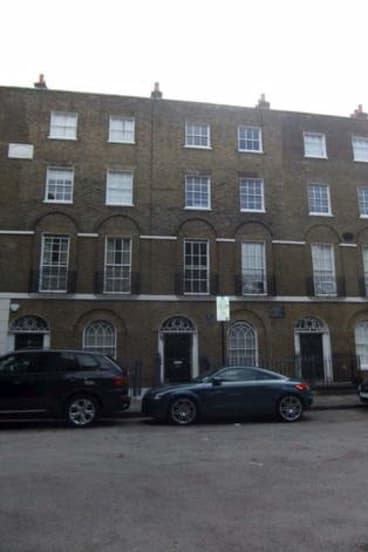 <b>Canonbury Place, Islington, London.</b> Orwell and wife Eileen lived at 27b Canonbury Square. Orwell found a new name for it in 1984: 'Victory Mansions'. Now a byword for gentrification, Islington was then working class.