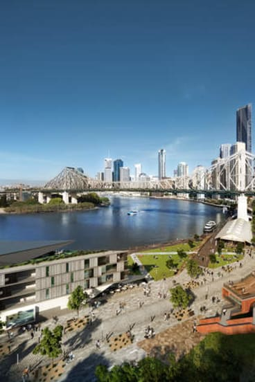 Proposed Howard Smith Wharves