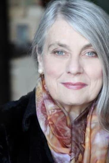 Author Sally Morrison.