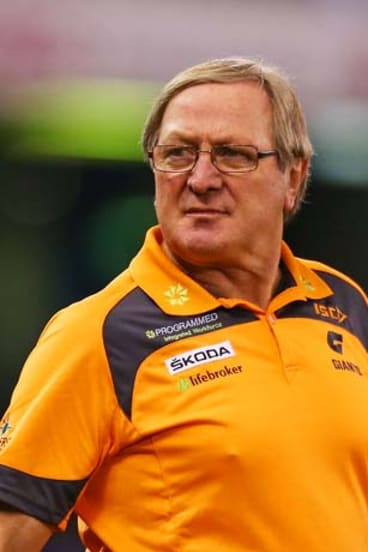 Outspoken: Giants coach Kevin Sheedy.