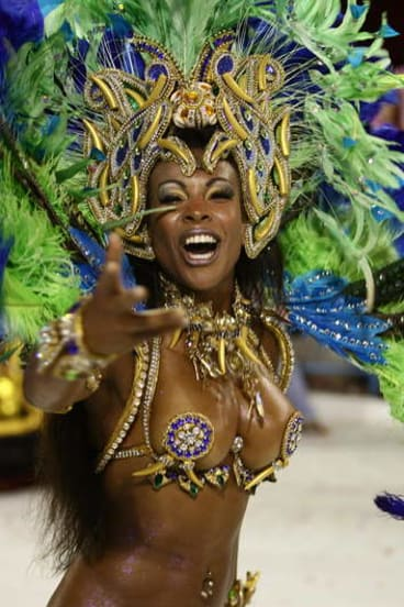 And attending Carnival in Rio.