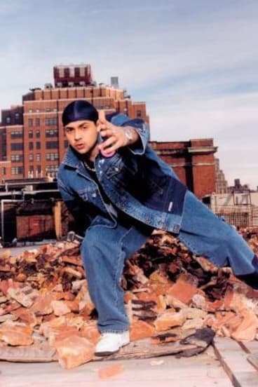 Then: Sean Paul in his 2002 glory days.