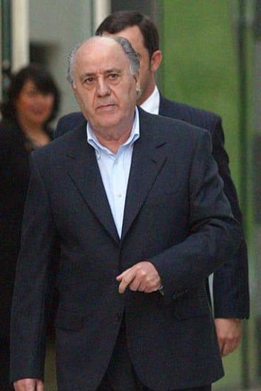 Low profile ... Amancio Ortega in a photo taken in 2004.