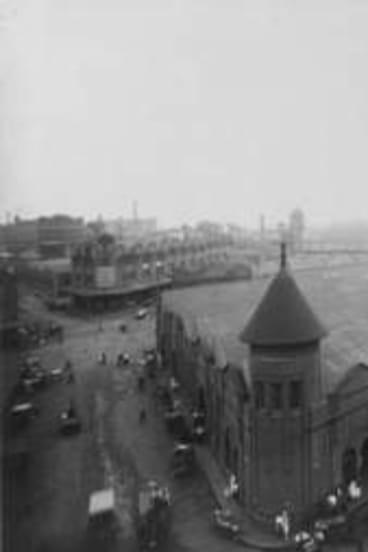 1920s ... Engine Street area of Haymarket, Sydney.
