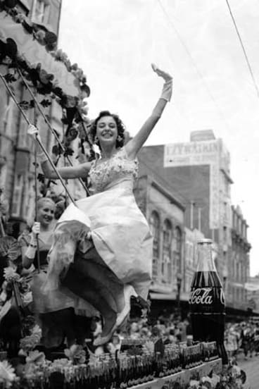 The 1957 Moomba Parade.