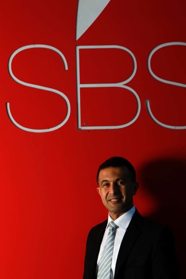 Man at the top ...  the new managing director of SBS, Michael Ebeid.
