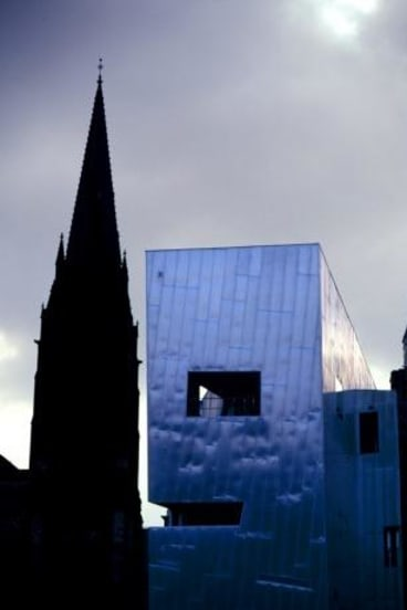 Award-winning design: Federation Square offers a contemporary symbol of civic ambition and generosity.