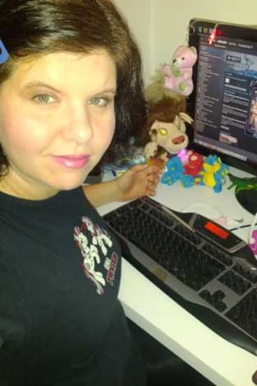 """""""I try to stay under the radar,""""  says Rebecca Oakley, who hides her gender while gaming."""
