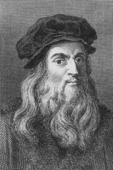 Reincarnation ... da Vinci.