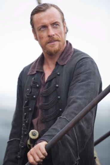 Toby Stephens as Captain Flint.